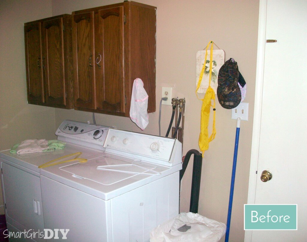 Before laundry renovation