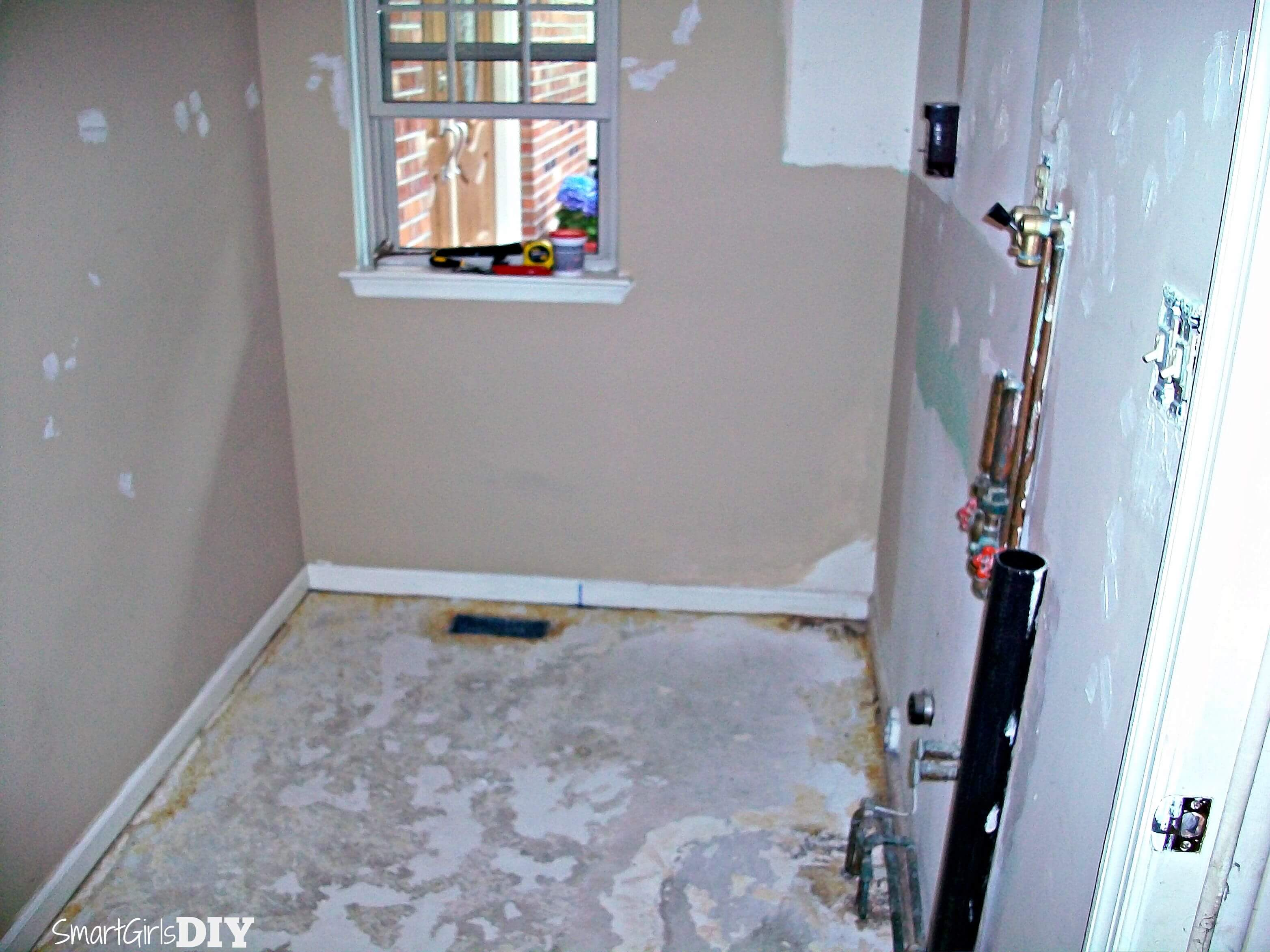 Laundry Room 1: The Initial Renovation