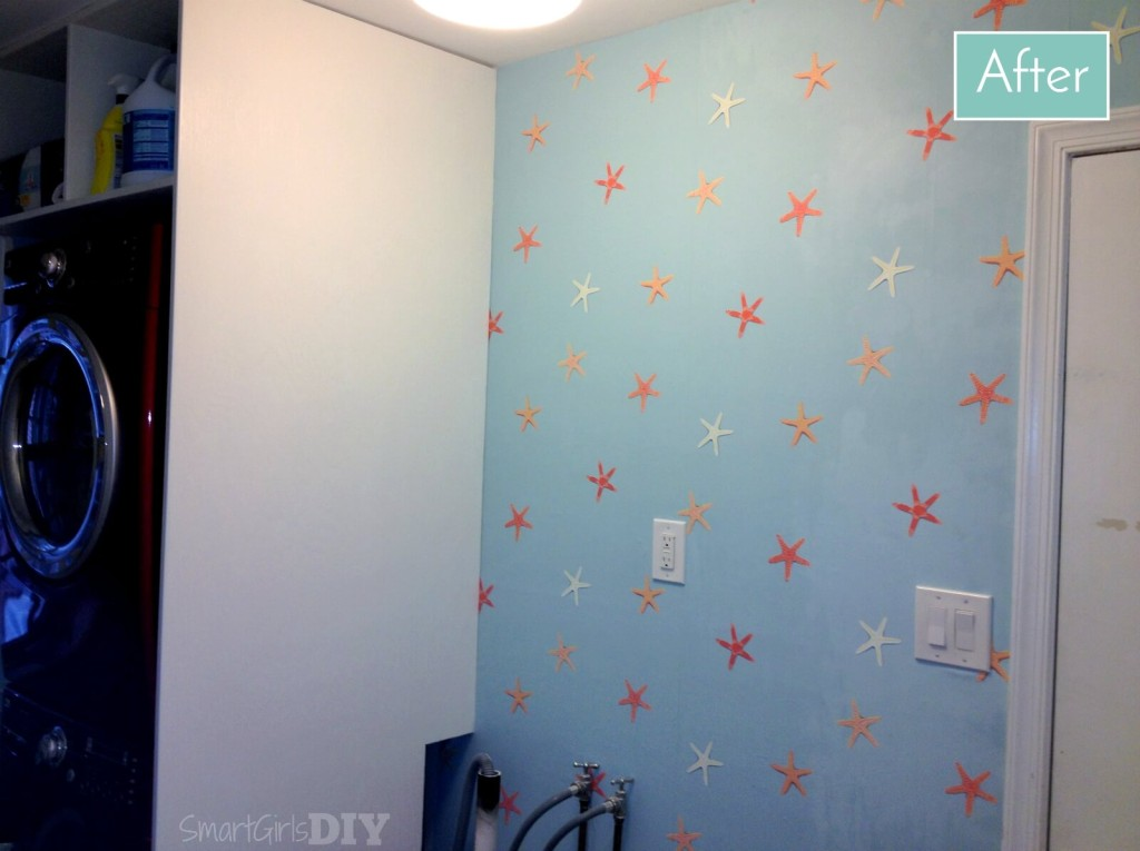 Laundry Room 3: Wallpaper Tips