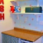 Laundry Room 5: Wall Shelves