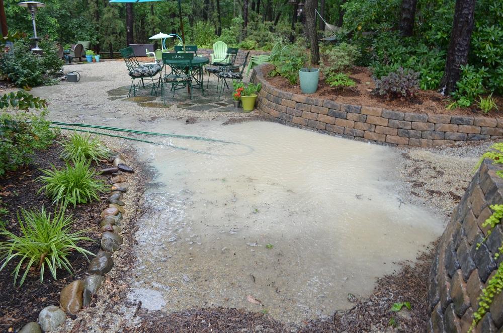 Week 13 – Yard Still Flooding