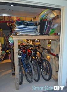 Pallet Garage Storage