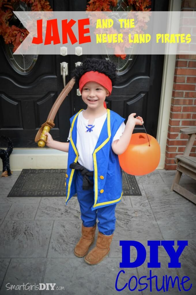 Jake and the Never Land Pirates DIY Costume