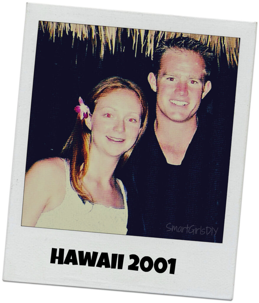 Liz and Lars Hawaii 2001