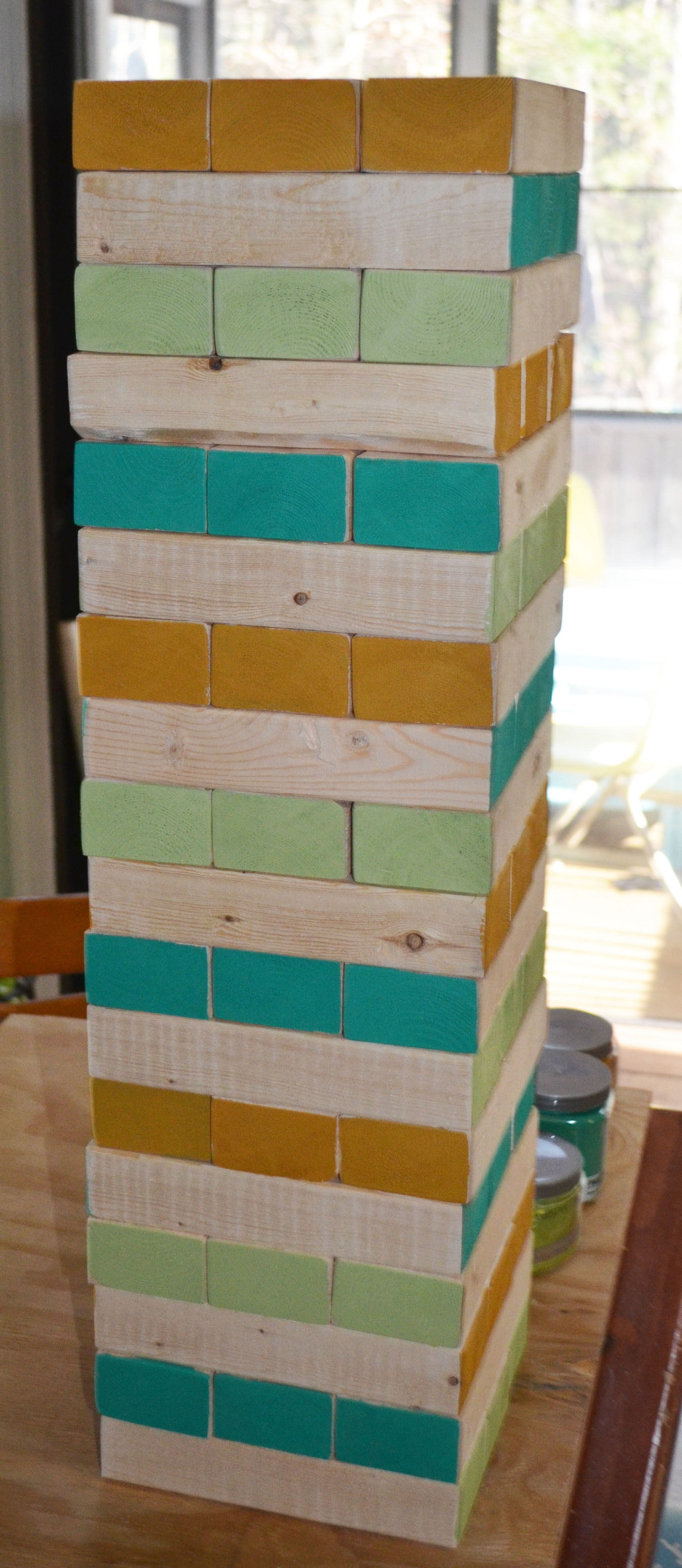 how to make a jenga game