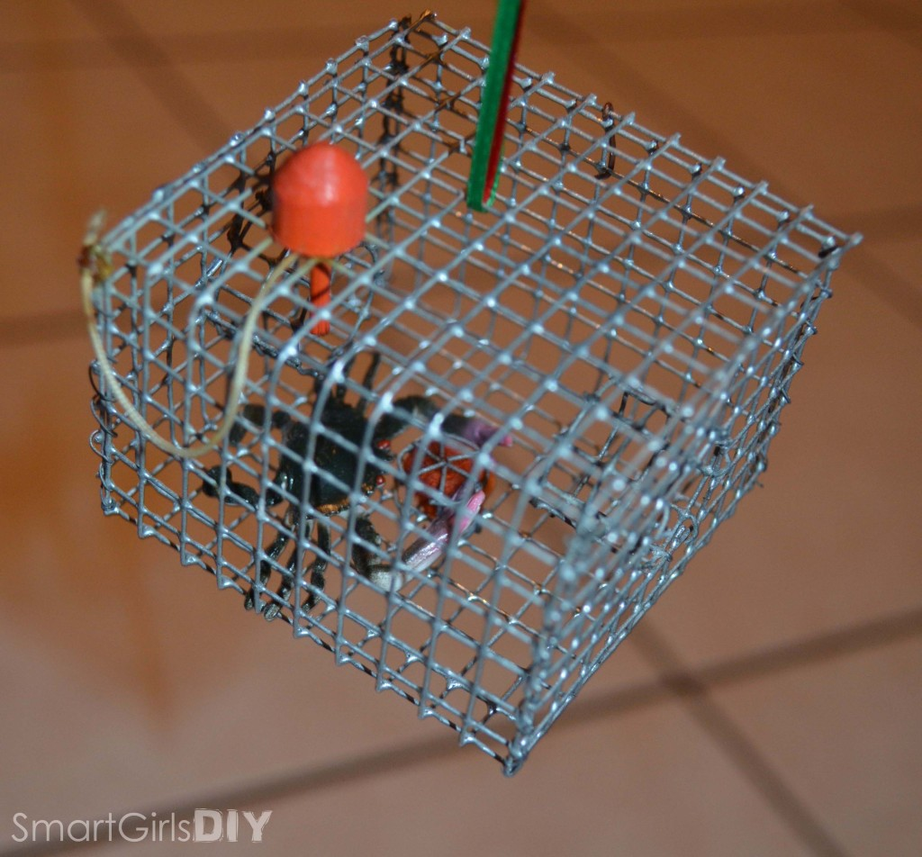 Crab Cage Ornament