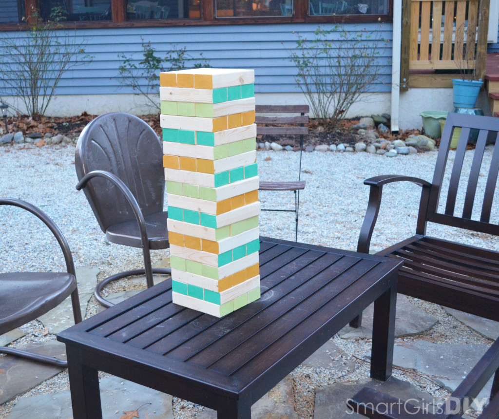 DIY Tumbling Towers aka Giant Jenga