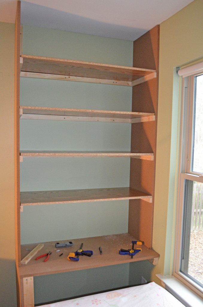 First section of wall unit