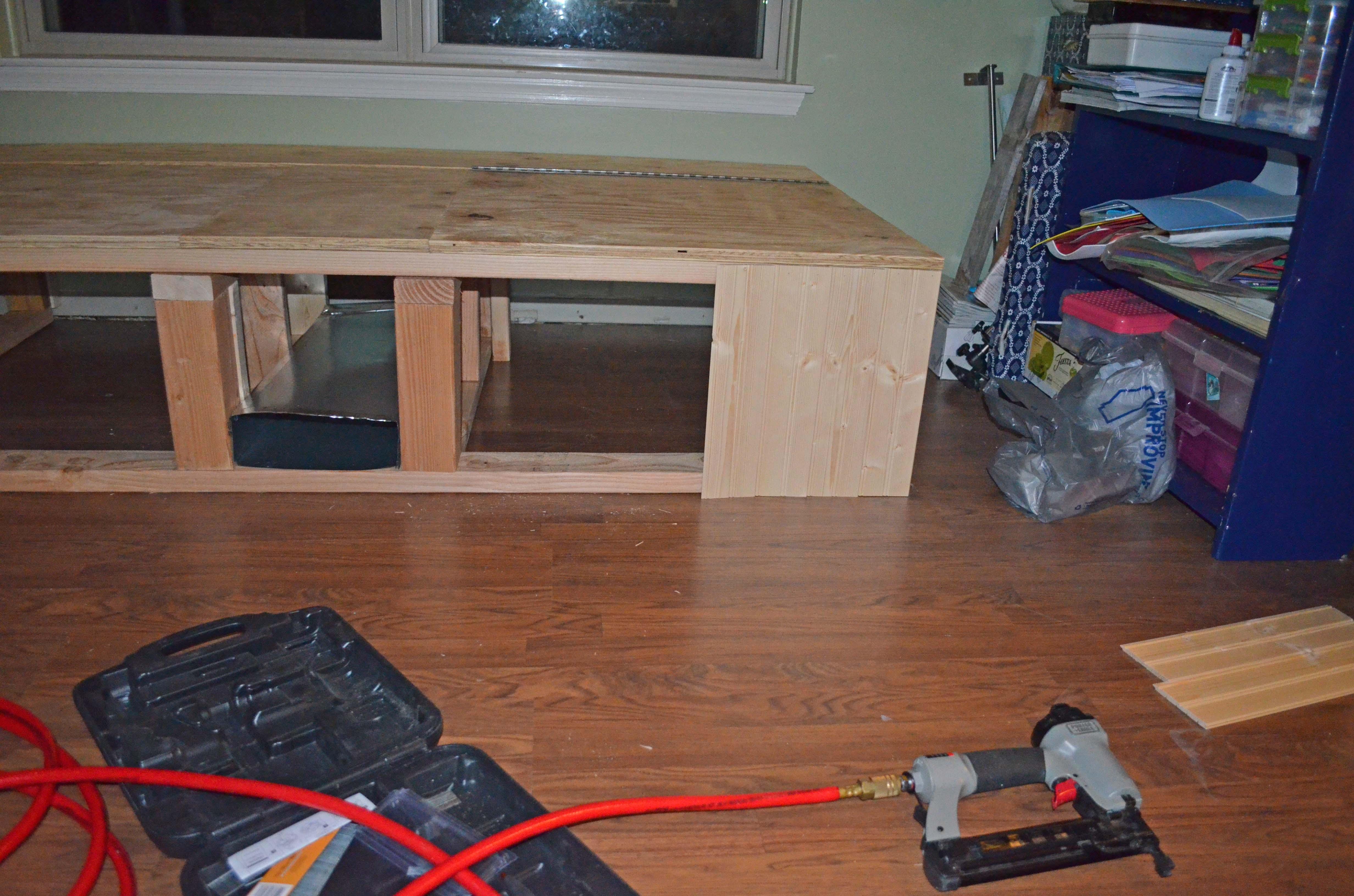 Installing paneling
