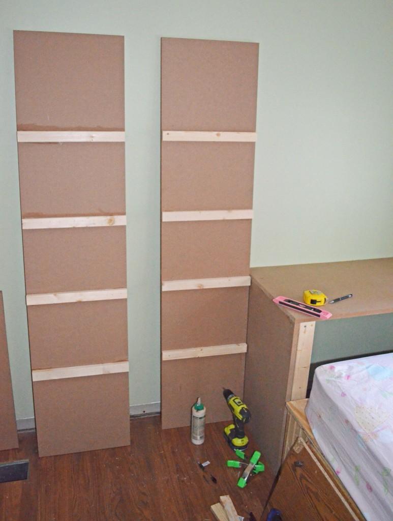 Matching shelf sides