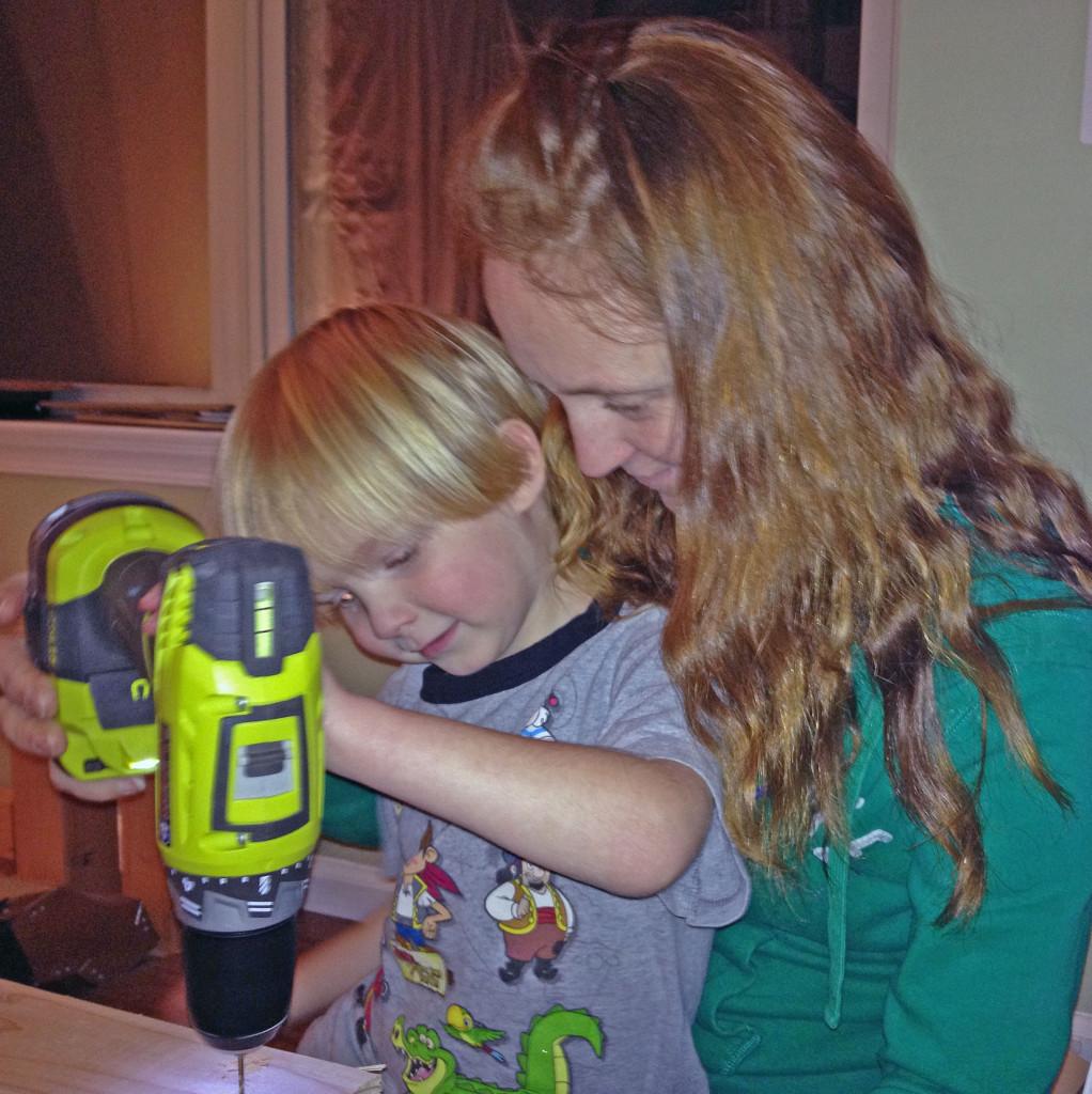 Mommys little helper