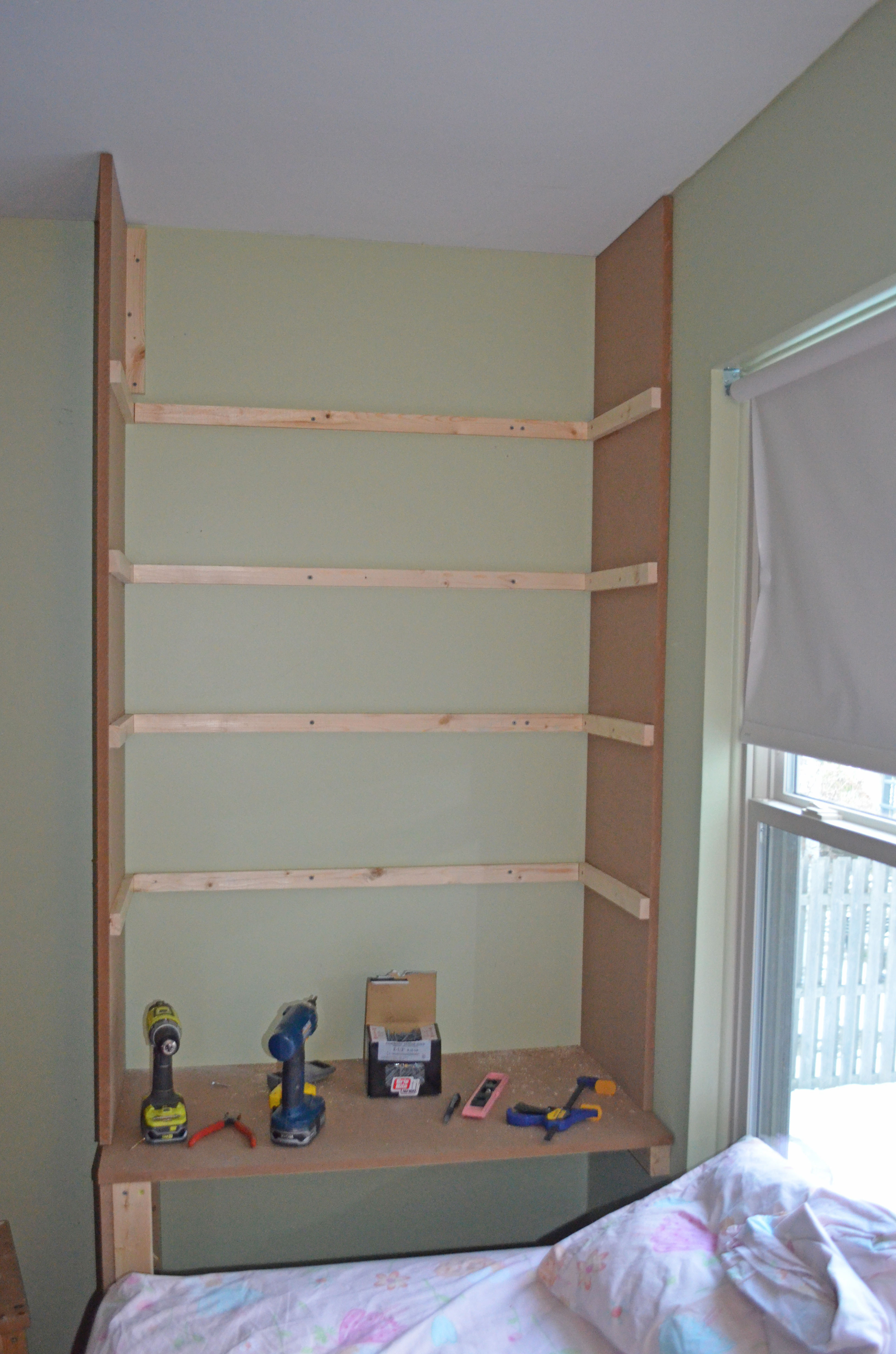 Office 2: Built-in Bookshelves