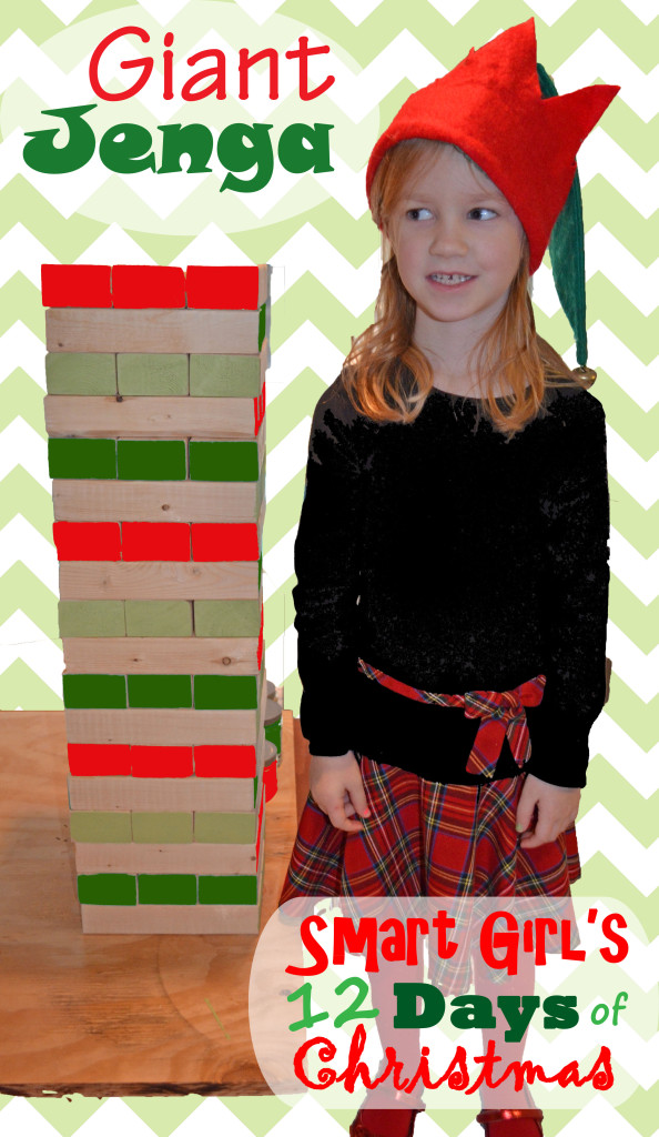 Smart Girls 12 Days of Christmas - Giant Jenga