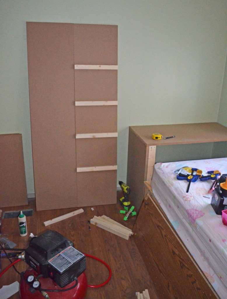 Transferring shelf measurements