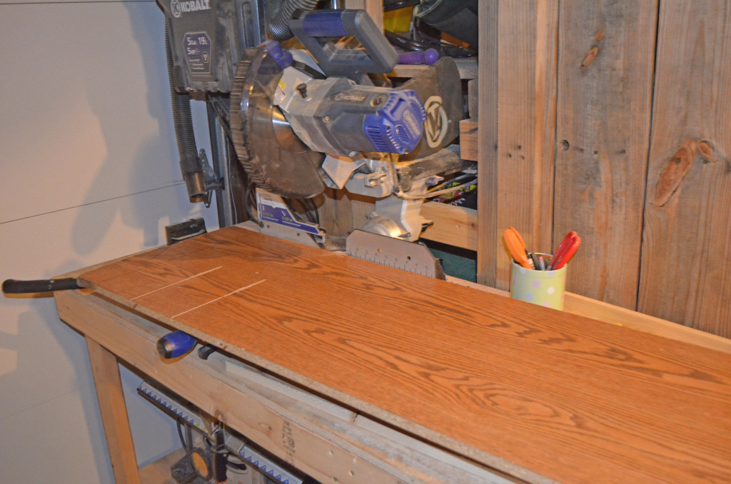 Using scrap for shelves