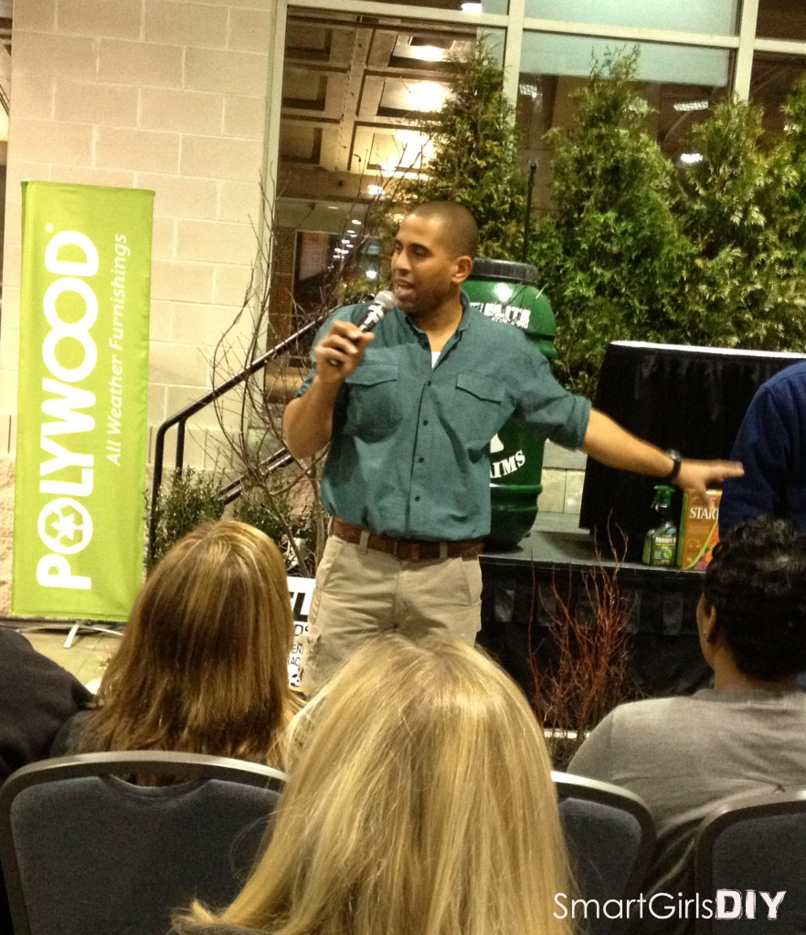 Ahmed Hassan at Philly Home Show