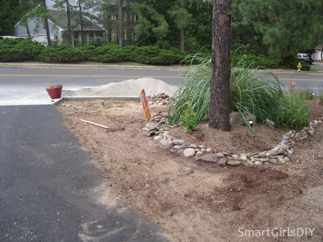 Area near curb needs more dirt