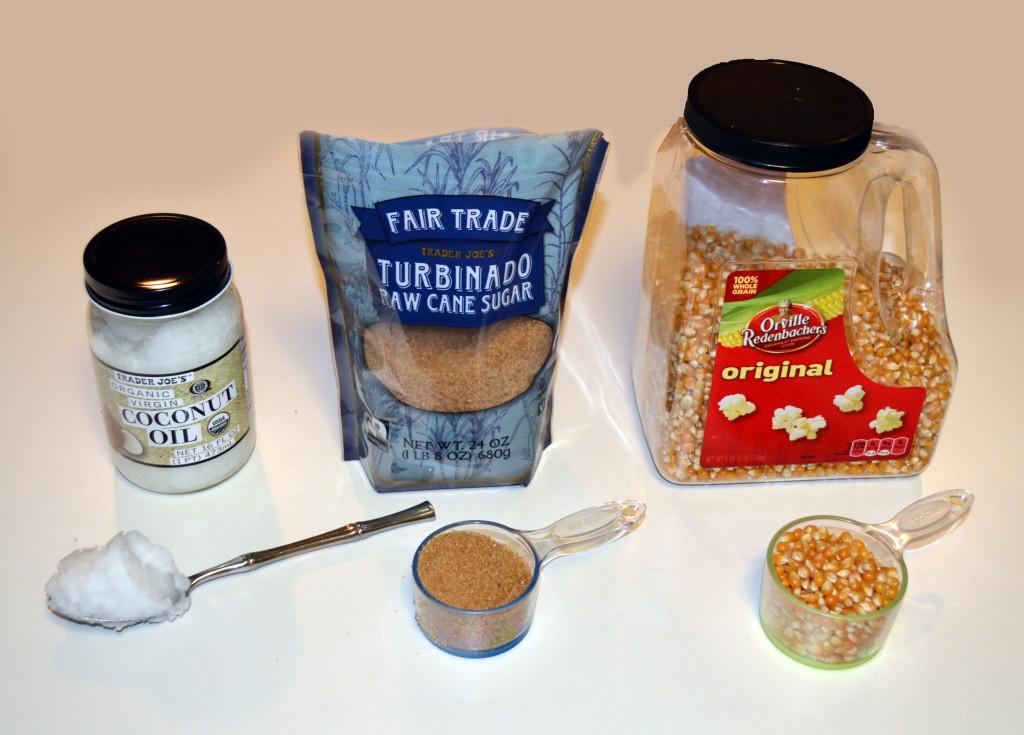 Healthy Kettle Corn Ingredients