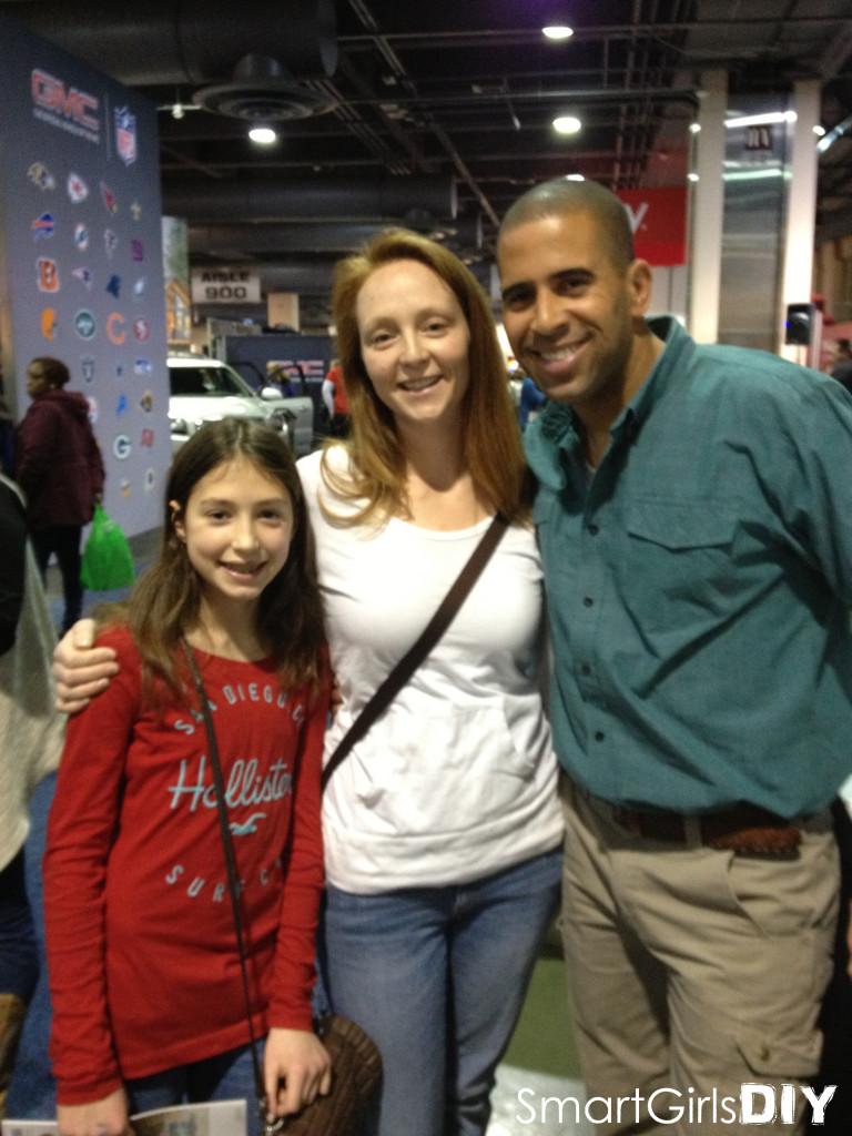Meeting Ahmed Hassan at the Philly Home Show