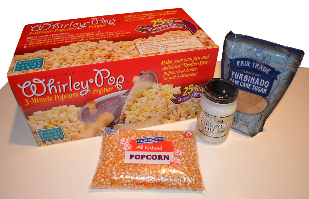 Smart Girls DIY - 1st Birthday Giveaway - Make Your Own Kettle Corn Kit