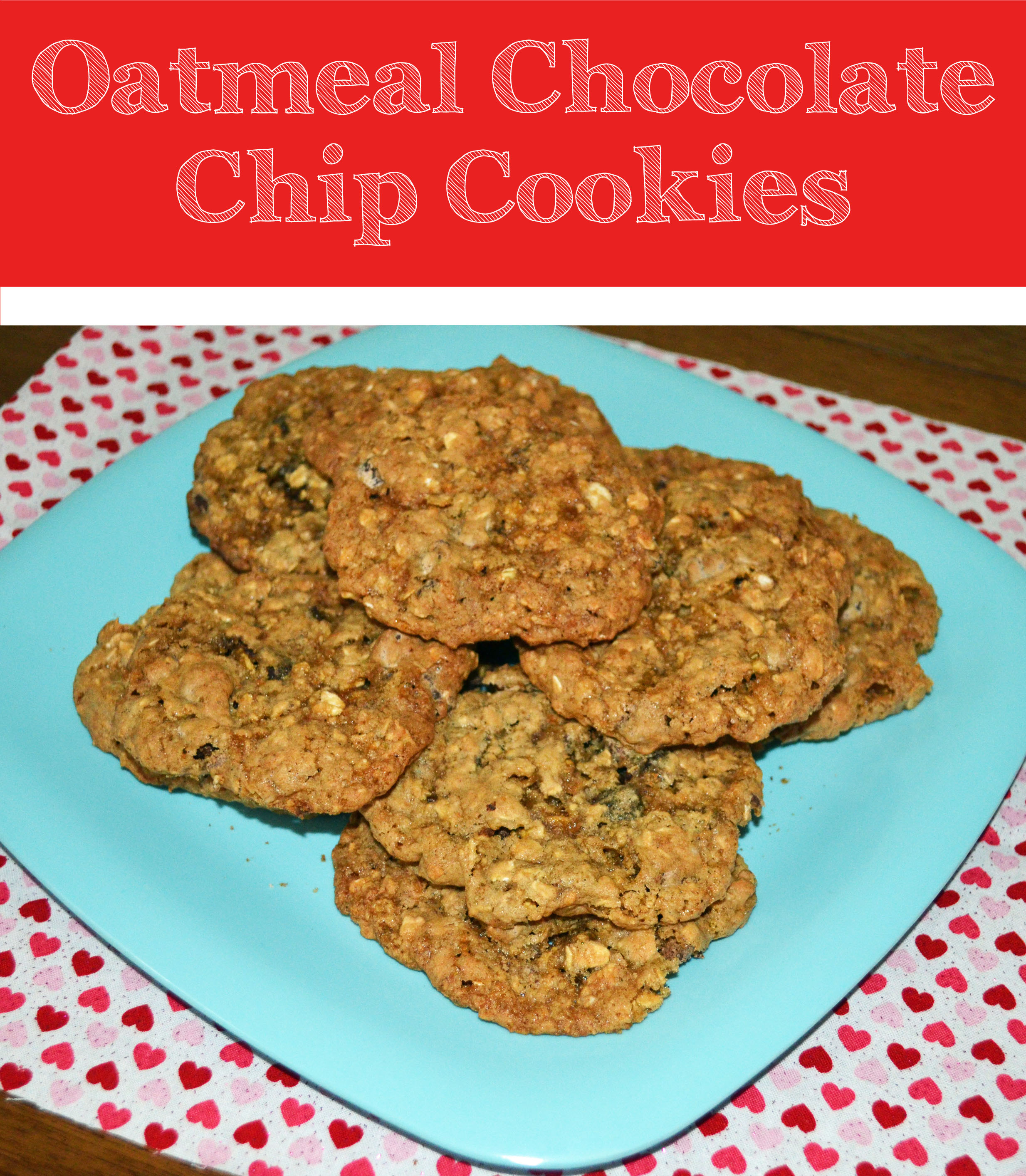 Oatmeal Chocolate Chip Cookie Recipe - Smart Girls DIY
