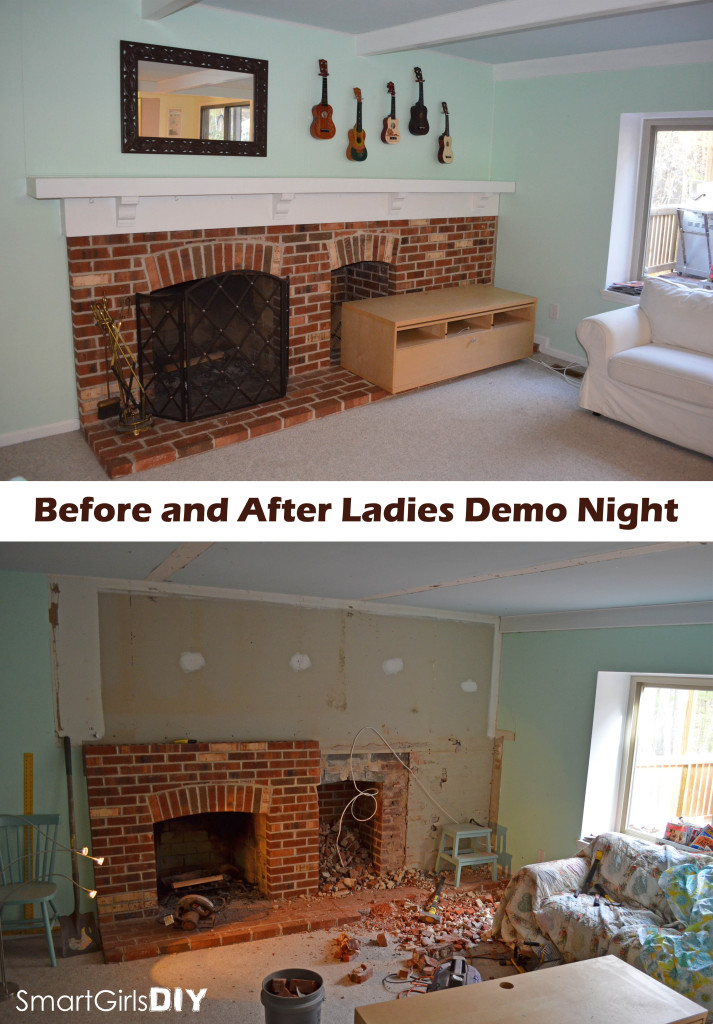 Before and After Ladies Demo Night