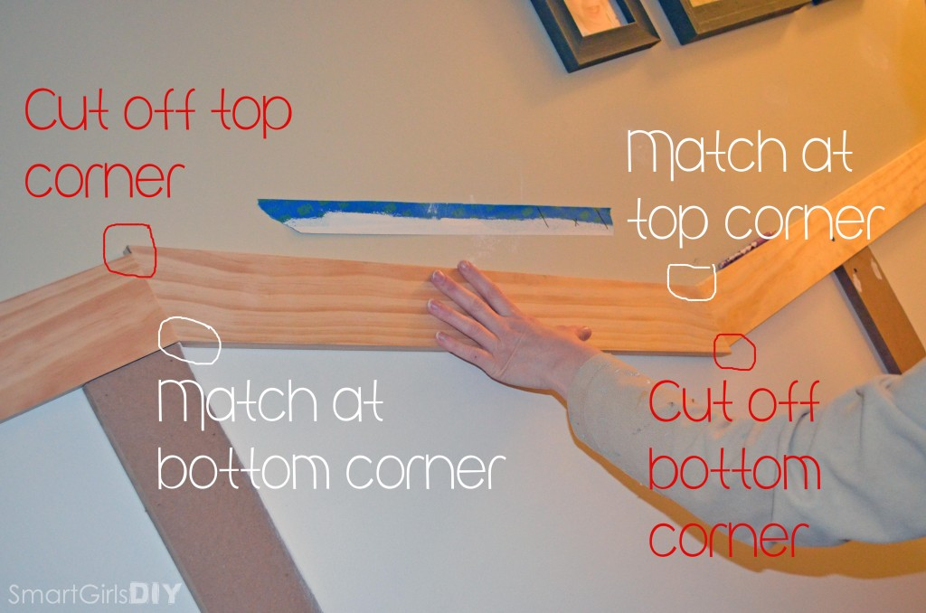 How to cut angles for board and batten