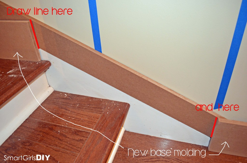 Measuring for new moulding