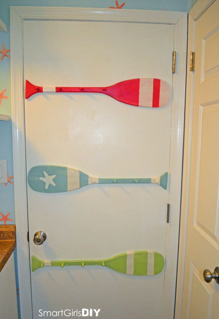 Smart Girls DIY - Solution for clothes drying rack in laundry room
