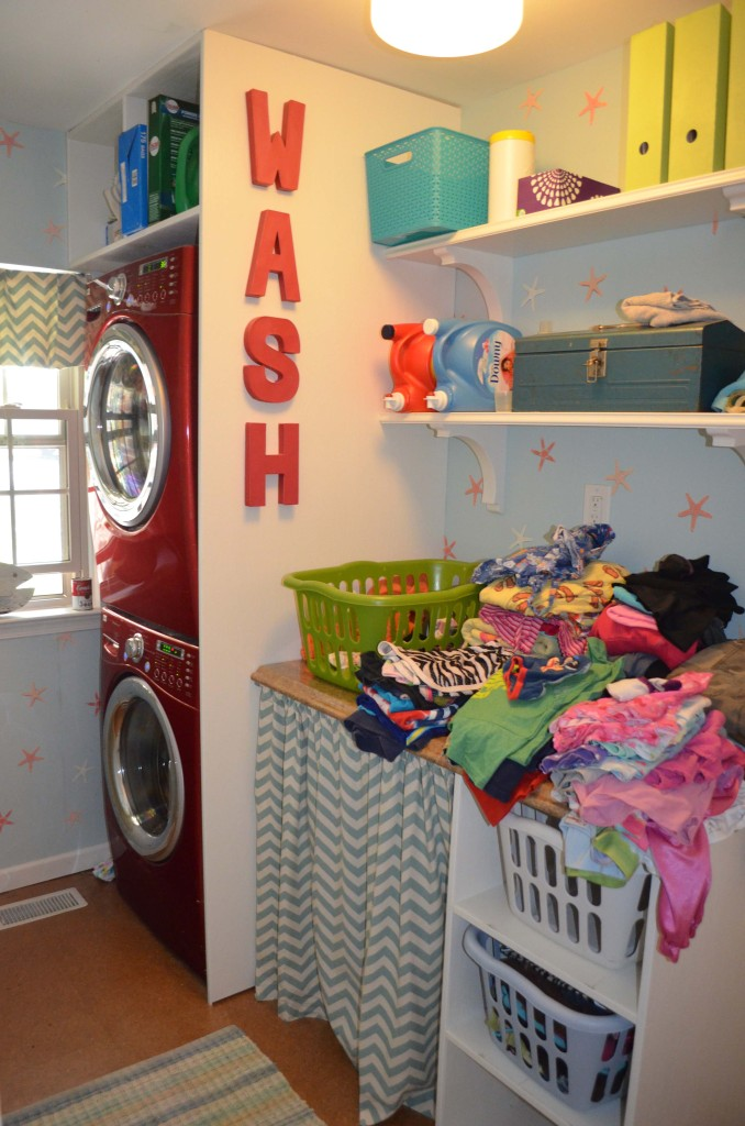 The worst the laundry room ever gets