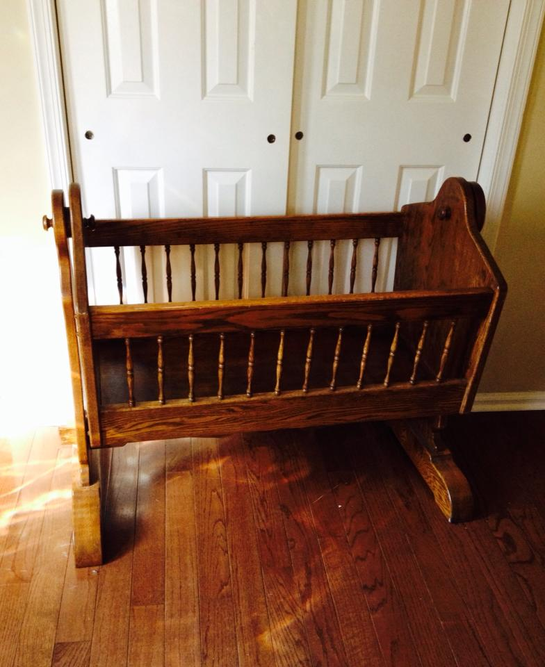 sold this crib on facebook