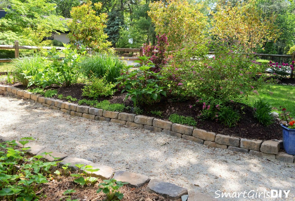 Backyard DIY landscaping