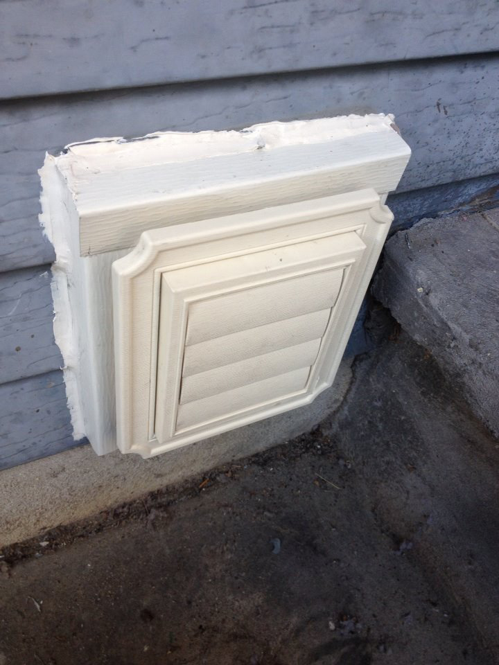 Cambridge Exteriors LLC installed this vent cover