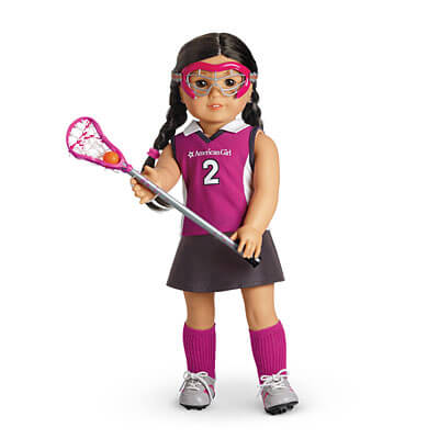 American Girl in LAX outfit