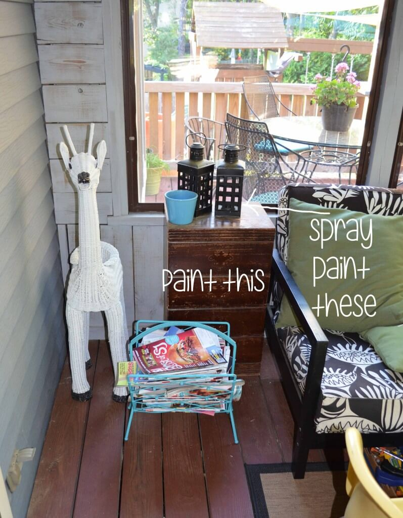 Summer to-do list -- back porch