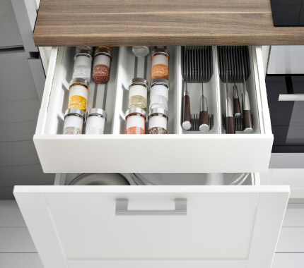 Love the interiors of the new Ikea Metod kitchen