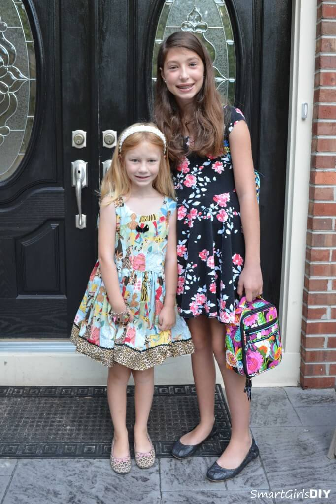First day of school for my girls