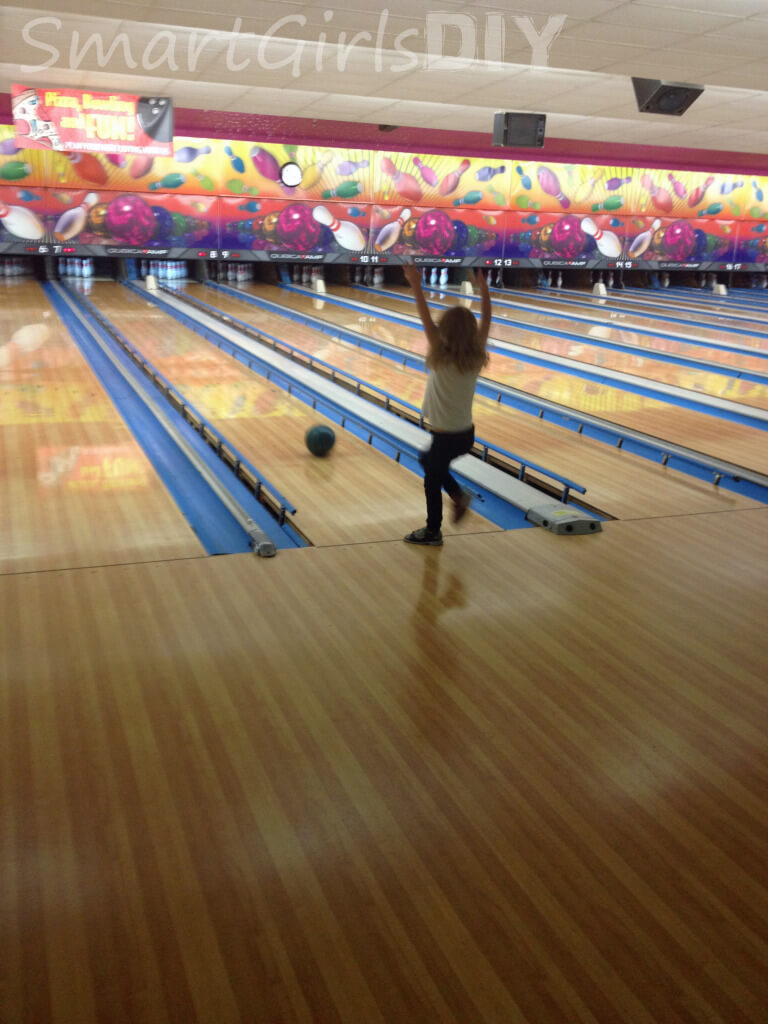 Bowling with the Girl Scouts - Copy