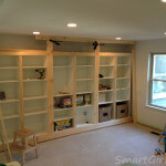 The Built-In Bookcase and Why It's Not Finished (Family Room Reno: 7)