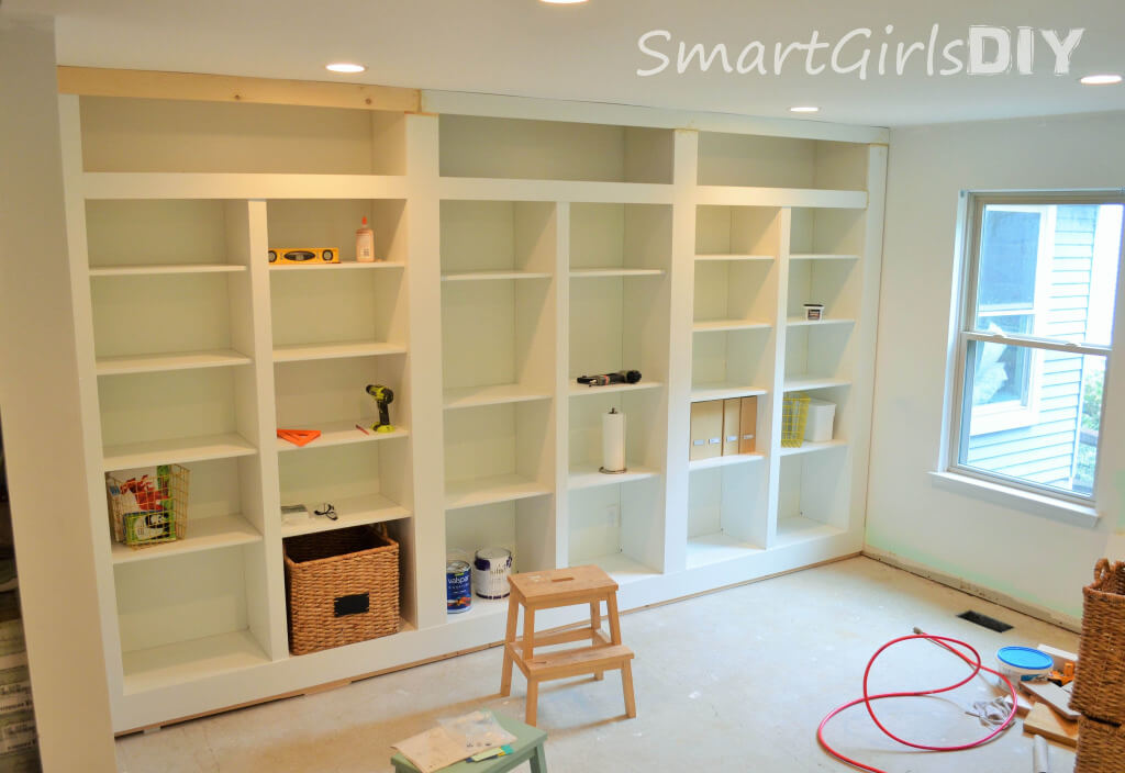Need a little more paint on built-ins