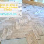 How To Tile a Herringbone Floor (Family Room Reno: 10)
