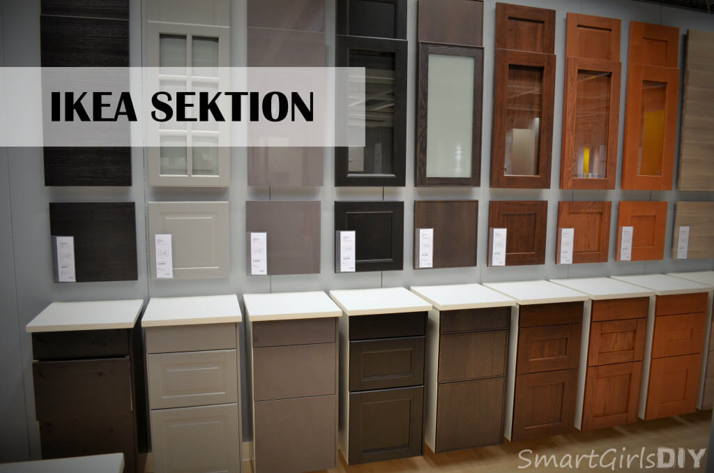 IKEA SEKTION door choices