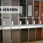 IKEA SEKTION door choices