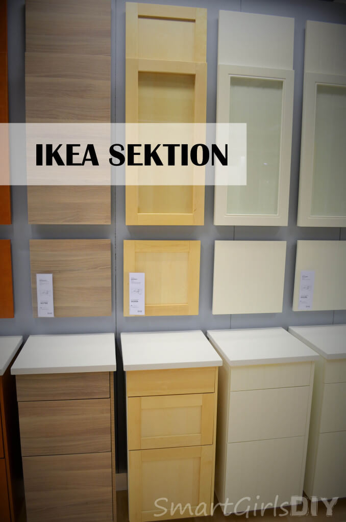 IKEA SEKTION door fronts