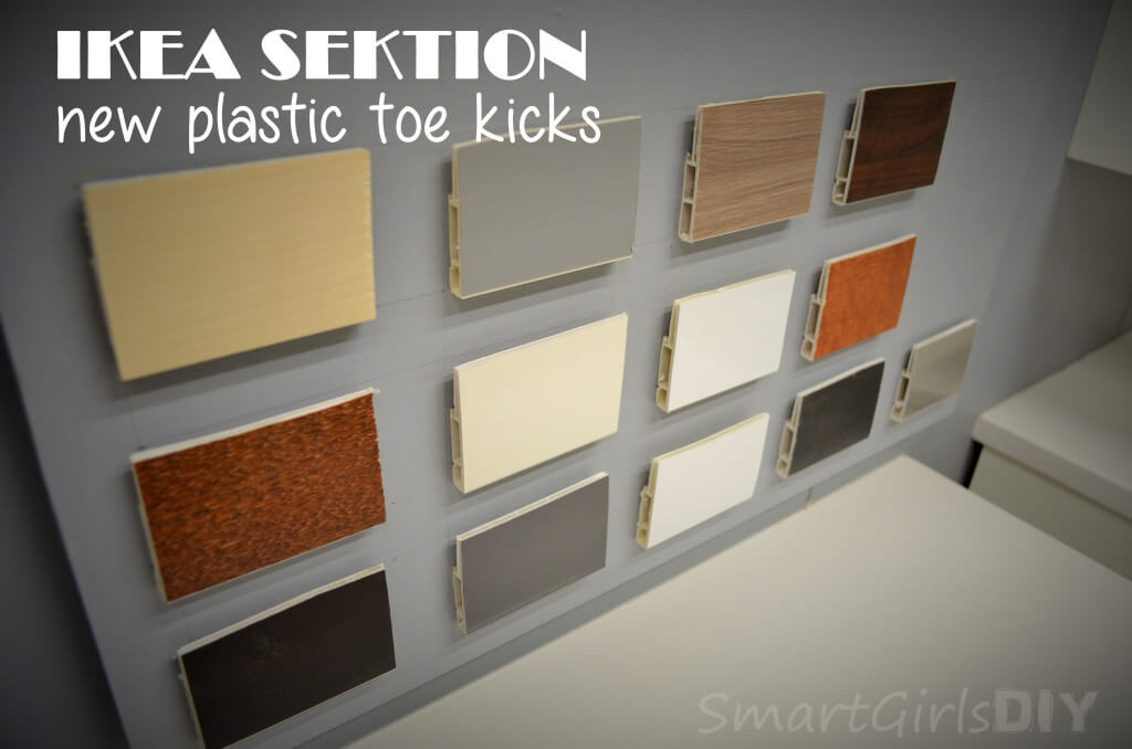 IKEA SEKTION new plastic toe kicks