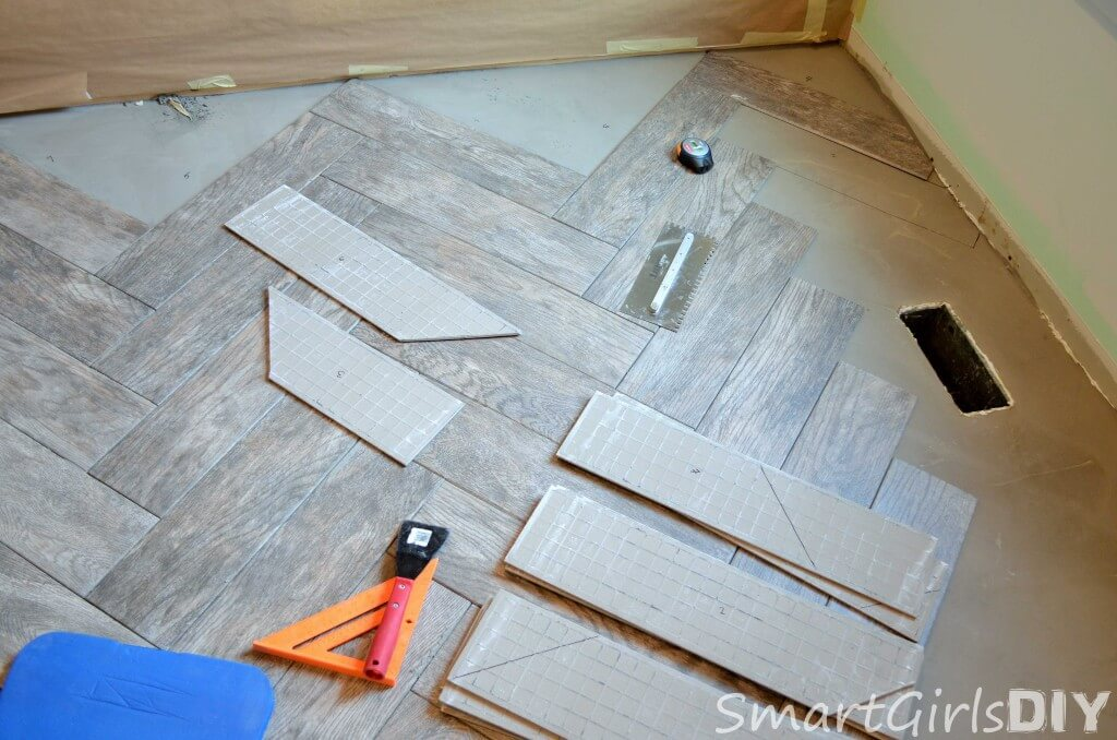 Make sure to number and label each tile before you cut it because they can get confused
