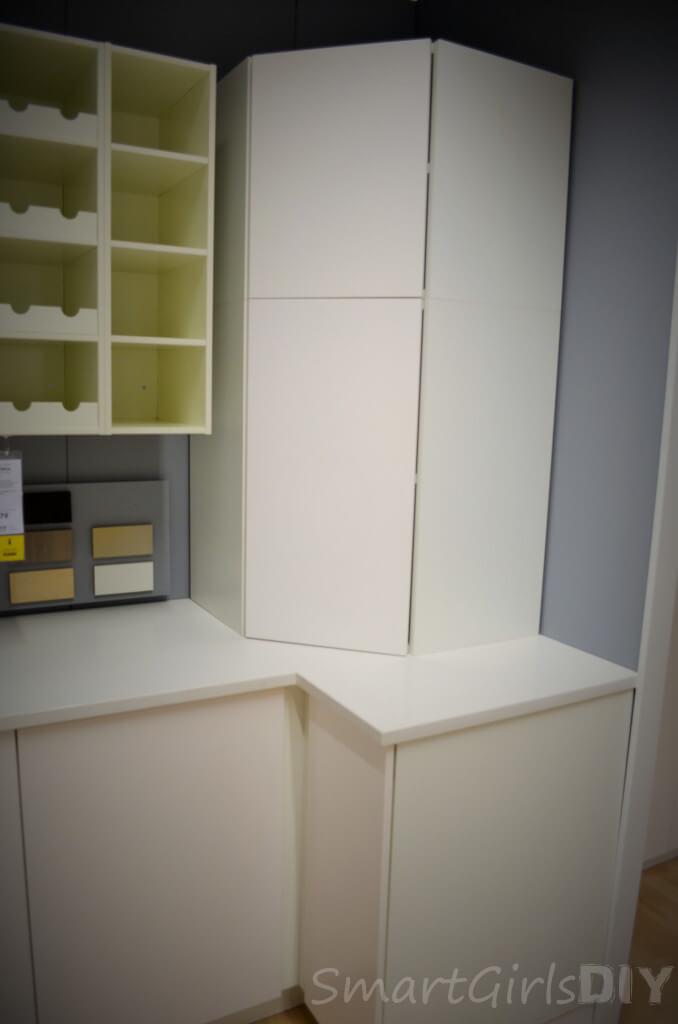 SEKTION corner cabinets