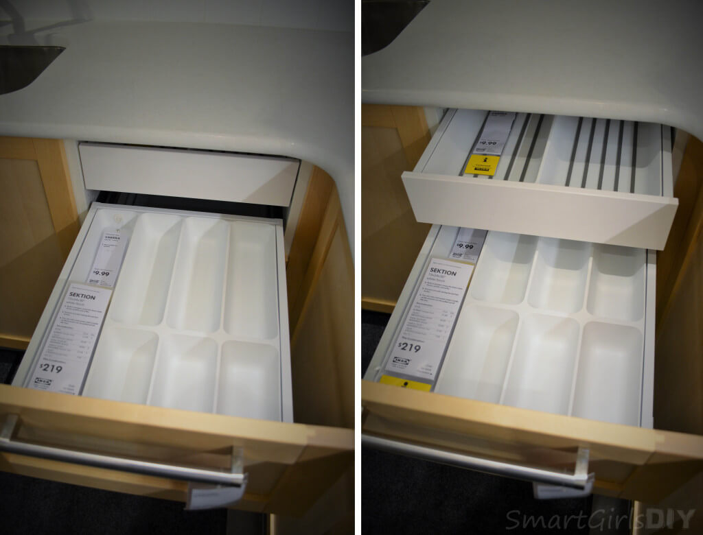 SEKTION drawer interior