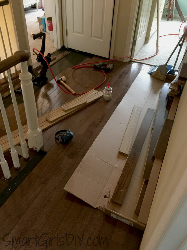 How to install hardwood floor all by yourself
