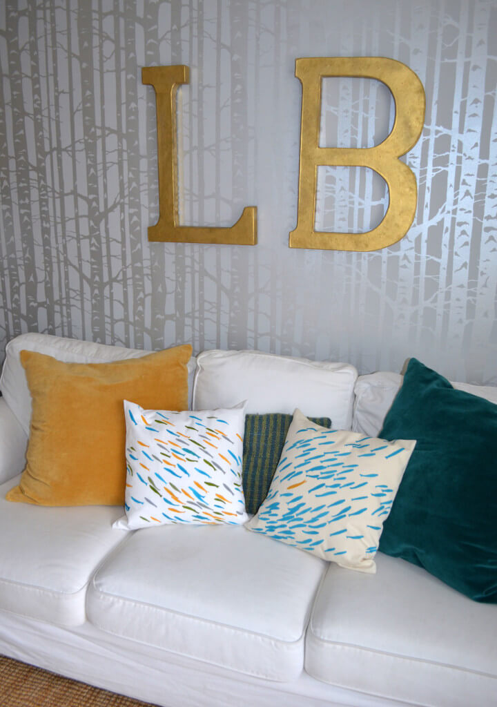 Pillows by Cutting Edge Stencils